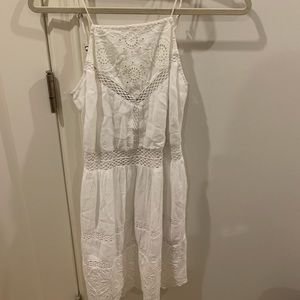 Embroidered summertime dress